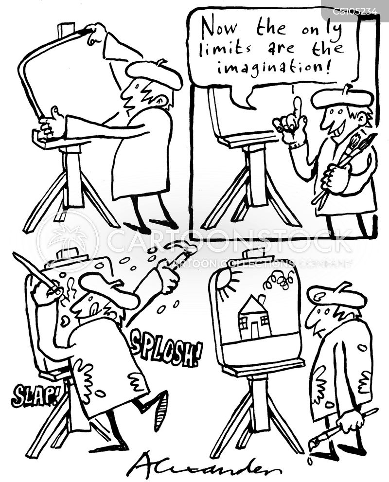 imagined cartoon