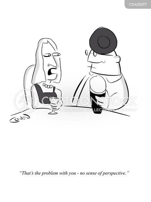 sense of perspective cartoon