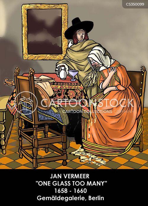 vermeer cartoon
