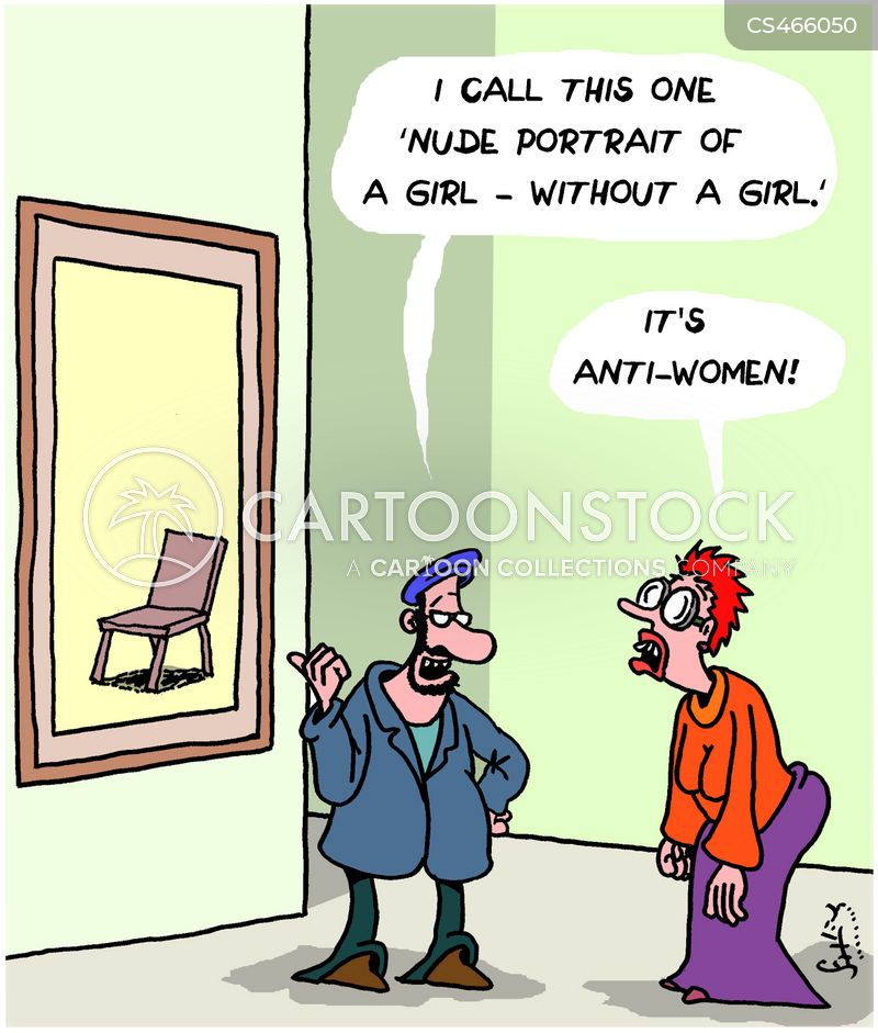 anti-women cartoon