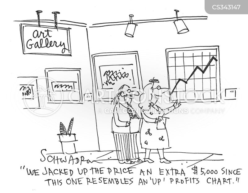 gallery owner cartoon