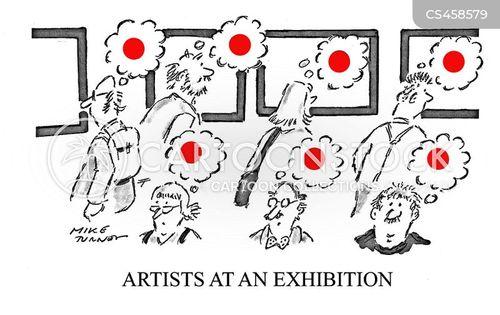 art dealer cartoon