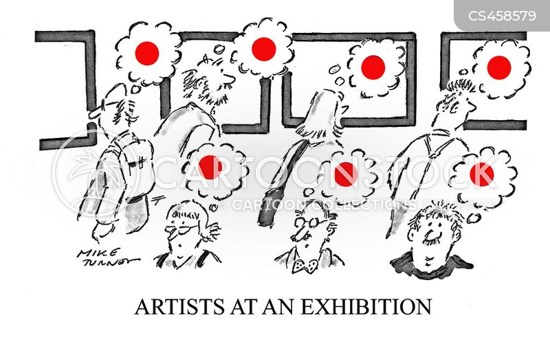 art dealers cartoon