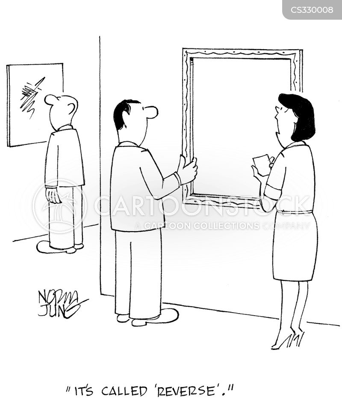 conceptual art cartoon