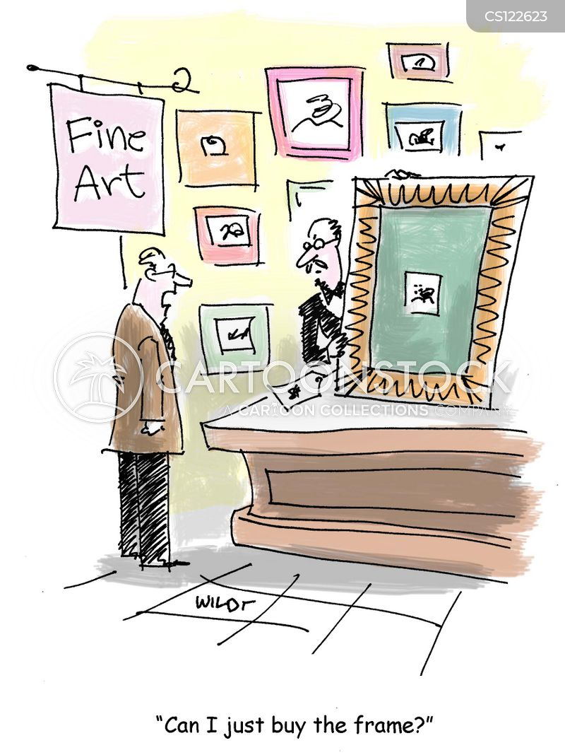 expensive art cartoon