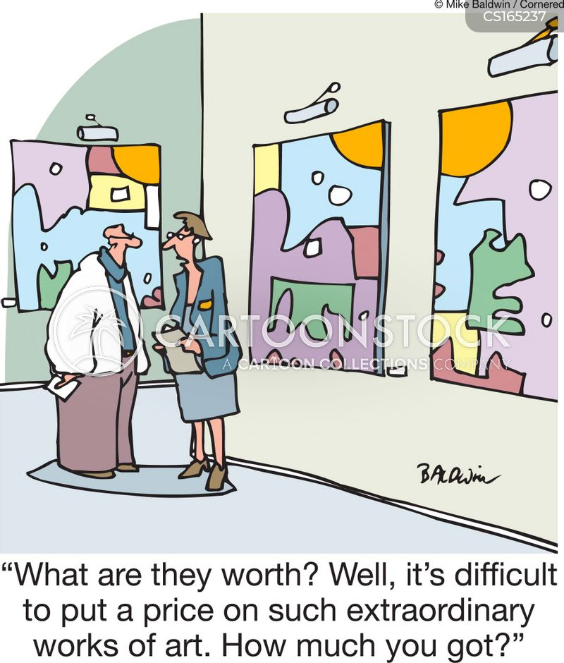 valuation cartoon