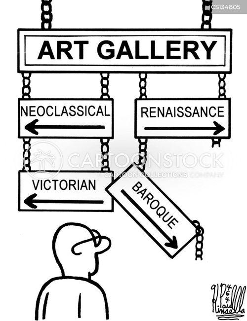 artistic period cartoon