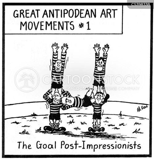 art movements cartoon