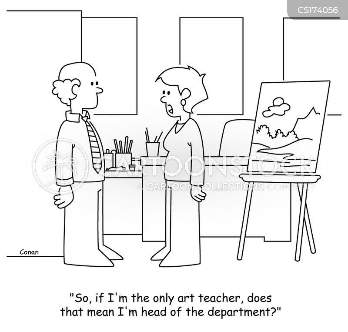 art classes cartoon