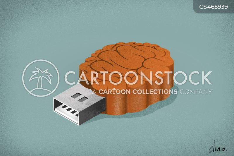 usb cartoon