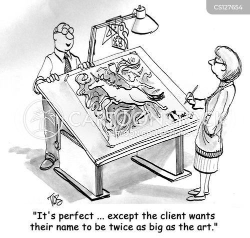 mass market cartoon