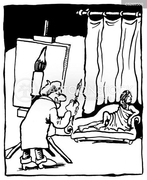 artiste cartoon