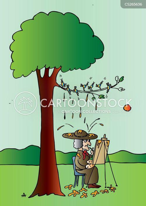 tree branch cartoon