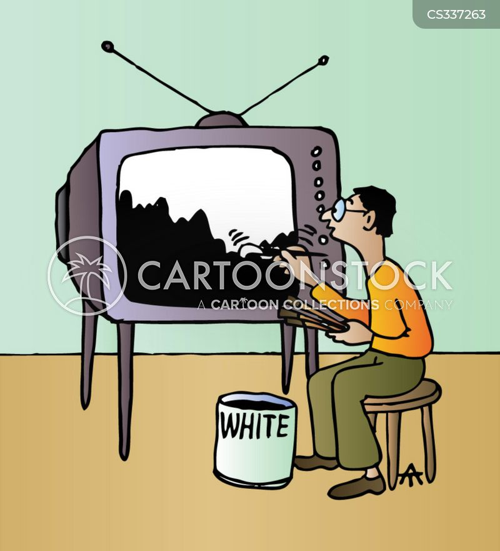 blank canvasses cartoon