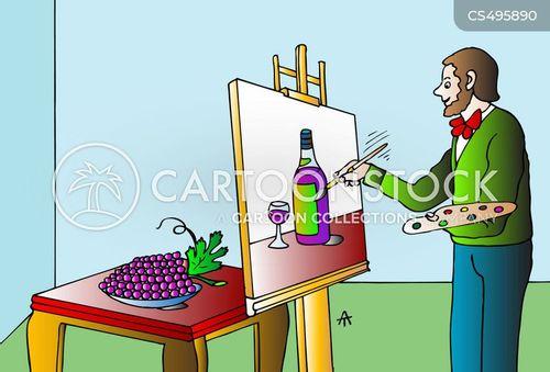 still-life cartoon