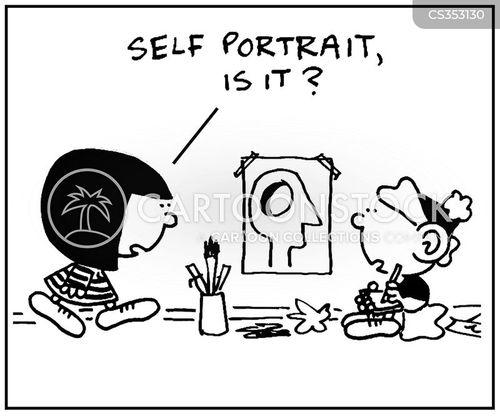empty head cartoon