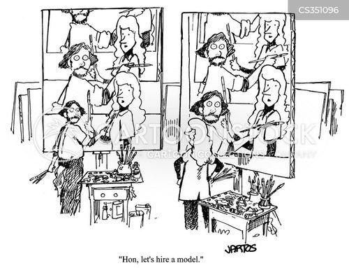 post modern cartoon