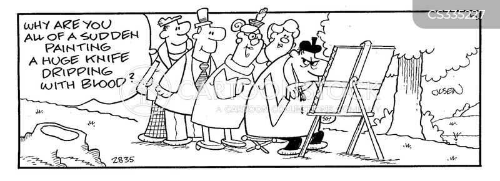 rubbernecking cartoon