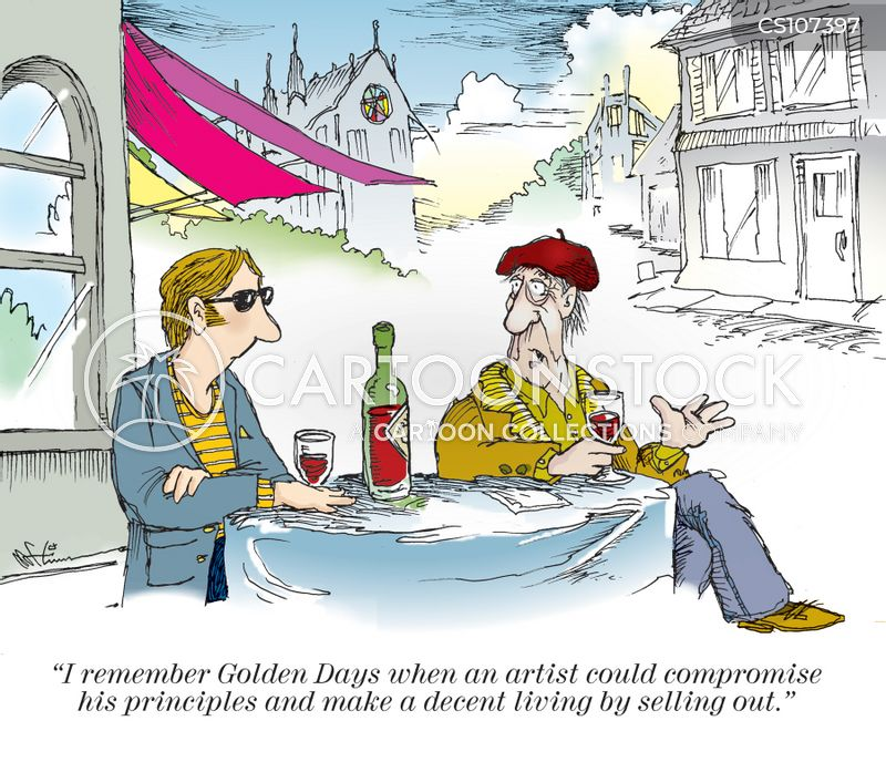 golden day cartoon