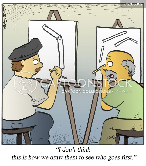 art studios cartoon