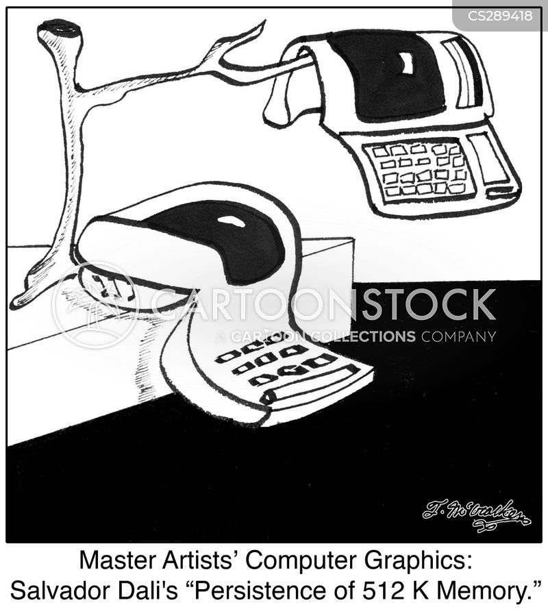 computer memory cartoon