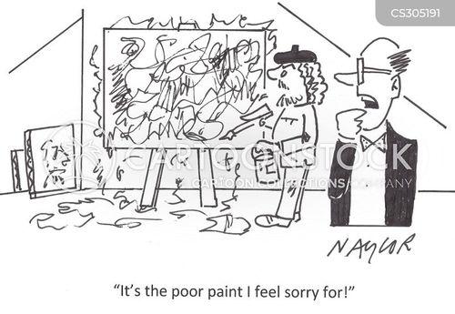 artistic skill cartoon