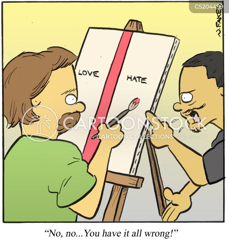 contemporary artwork cartoon