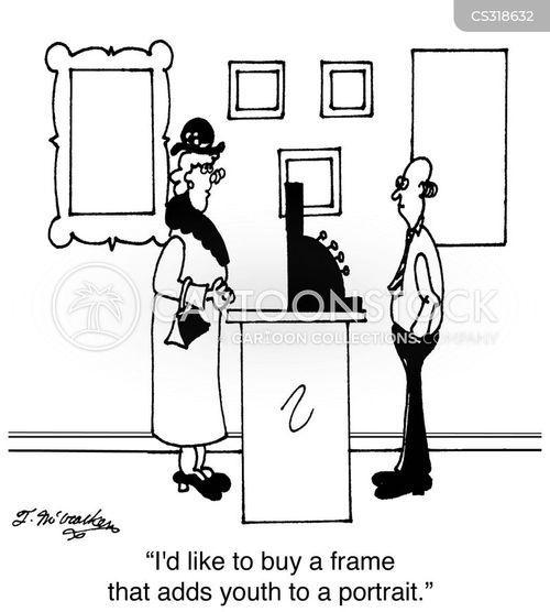 photo frame cartoon