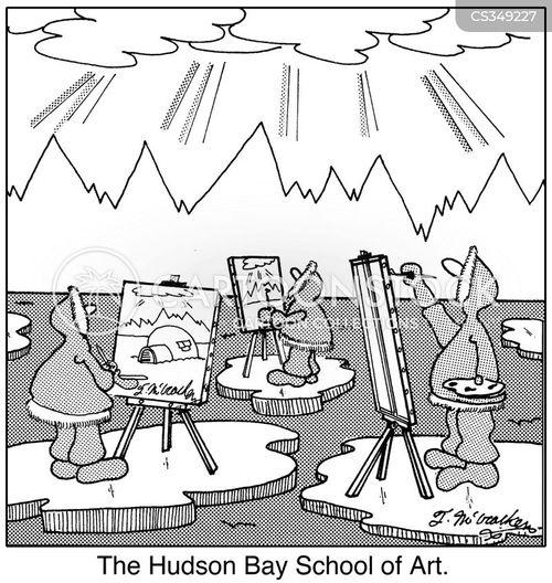 art student cartoon