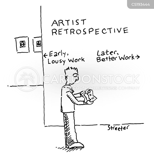 retrospective cartoon
