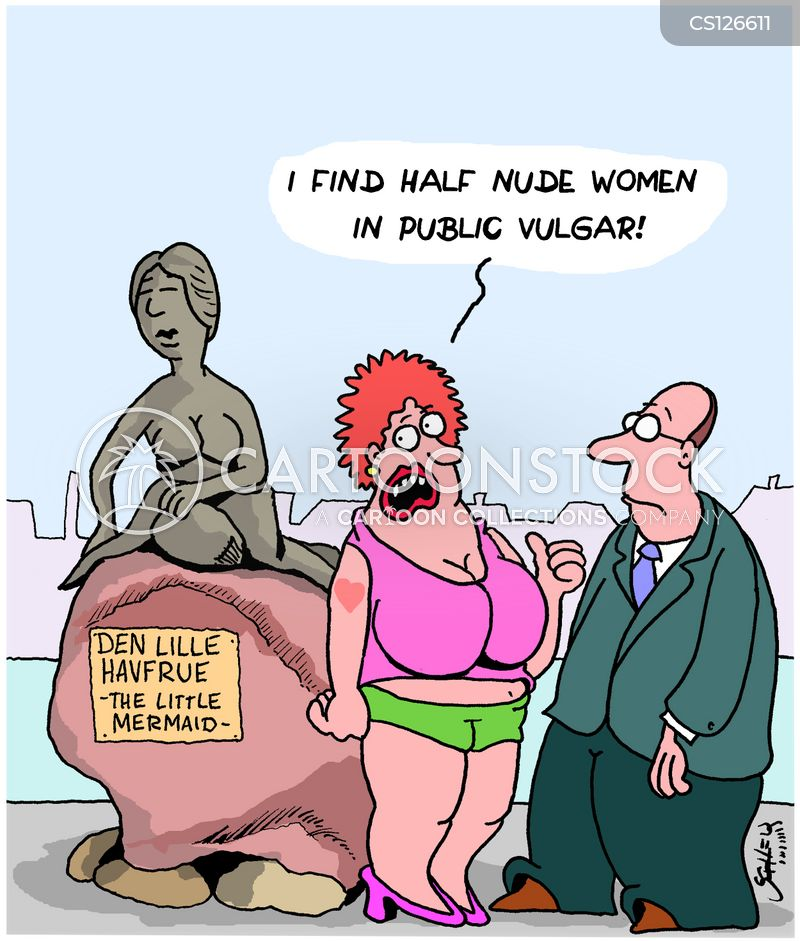 Women Nude cartoon