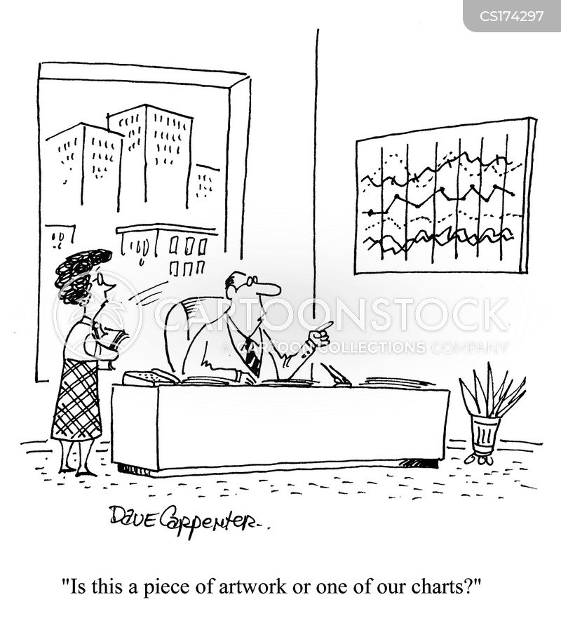 making profits cartoon