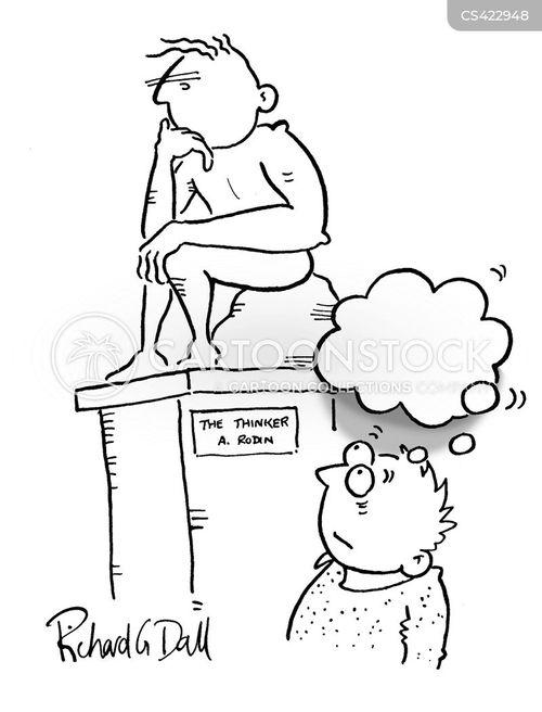 empty-headed cartoon