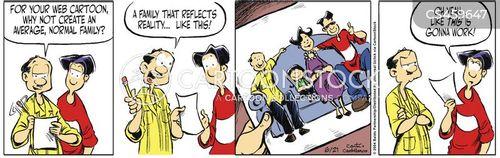 self-criticism cartoon