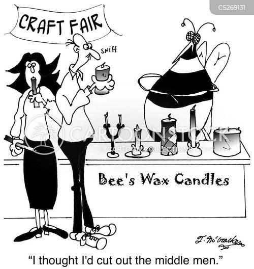 bees wax cartoon