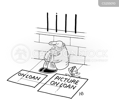 on loan cartoon