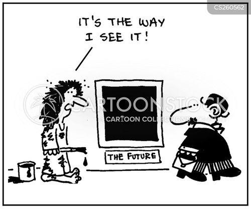 bleak cartoon