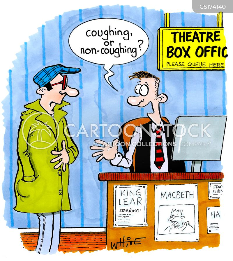 theatre tickets cartoon