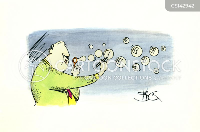 soap bubbles cartoon