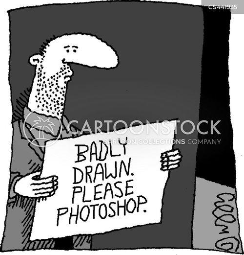 image editing cartoon
