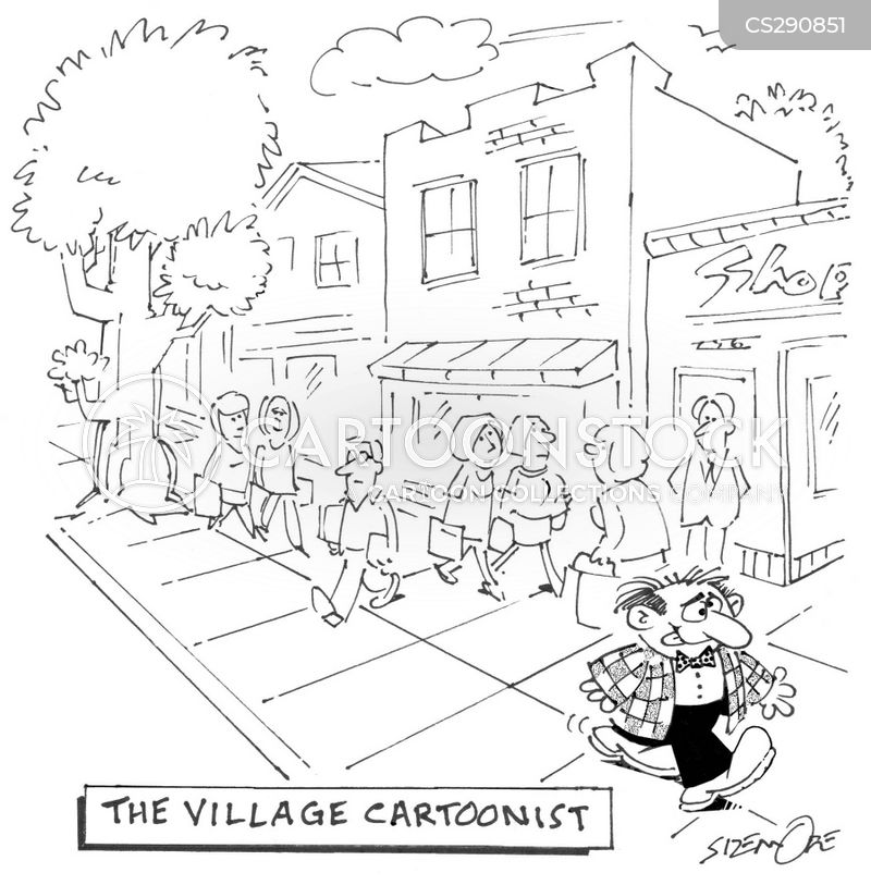 villager cartoon