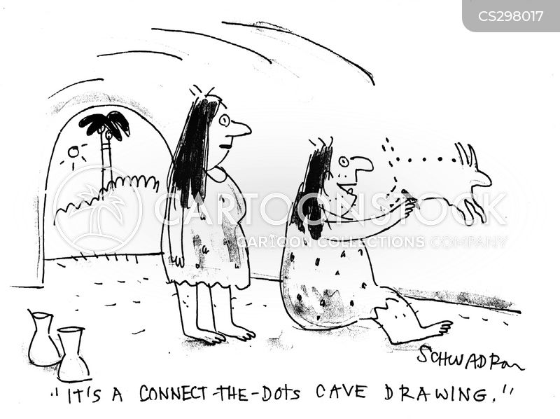 dot-to-dot cartoon