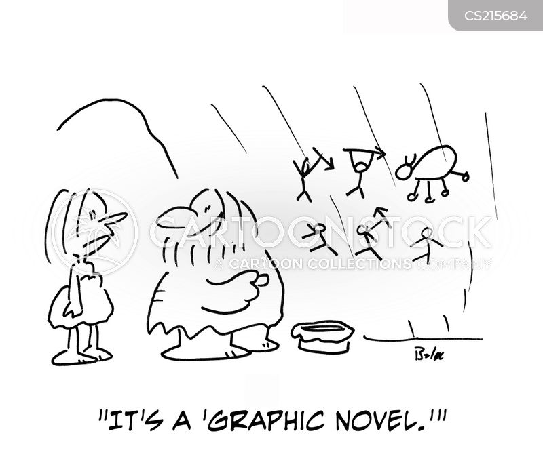 graphic novel cartoon