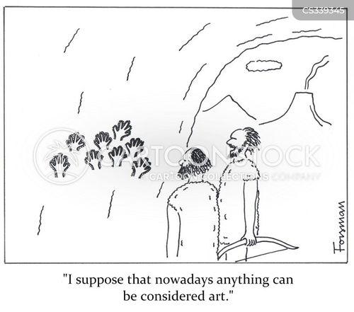 handprint cartoon