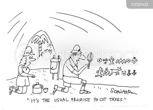 false promises cartoon