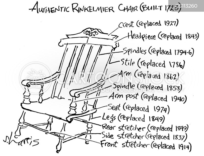 wooden chairs cartoon