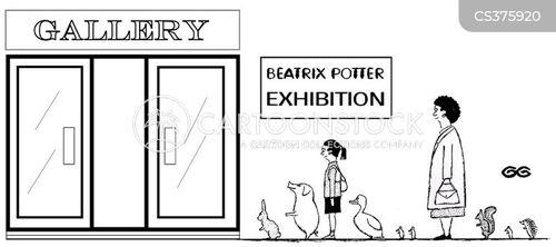 beatrix potter cartoon