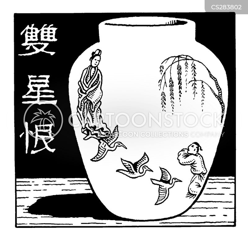 oriental cartoon