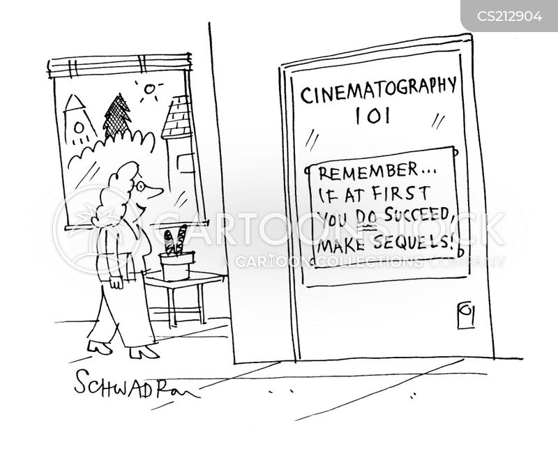 cinematography cartoon