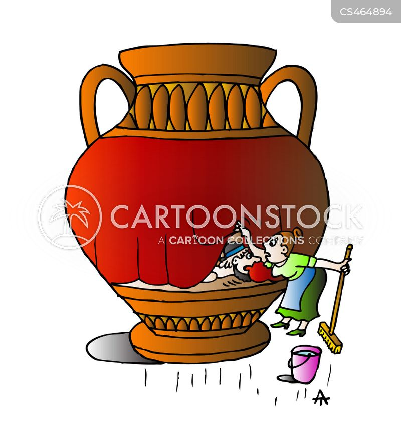 Greek Vase Cartoons And Comics Funny Pictures From Cartoonstock